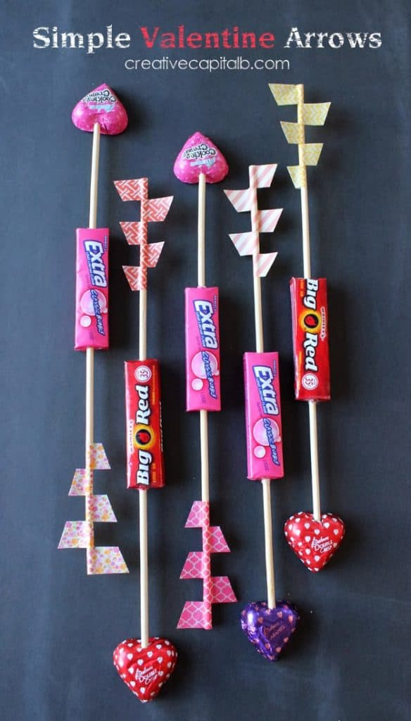 Cute Simple Valentine Arrows