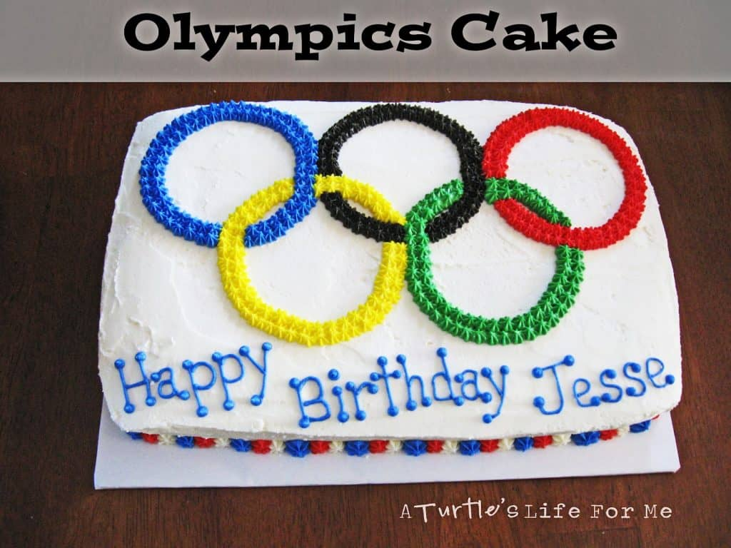 Olympics summer winter cake sheet birthday