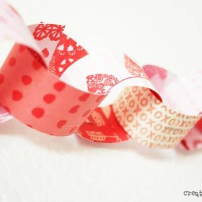 Ideas for Valentine Garland