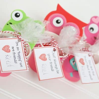 Personalize Your Store Bought Valentines