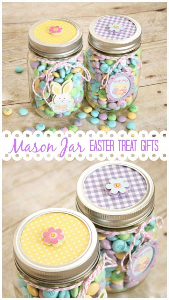 Mason jar easter treat gifts negle Gallery