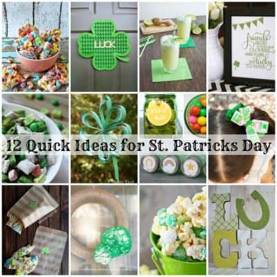 12 Ideas for St Patricks Day