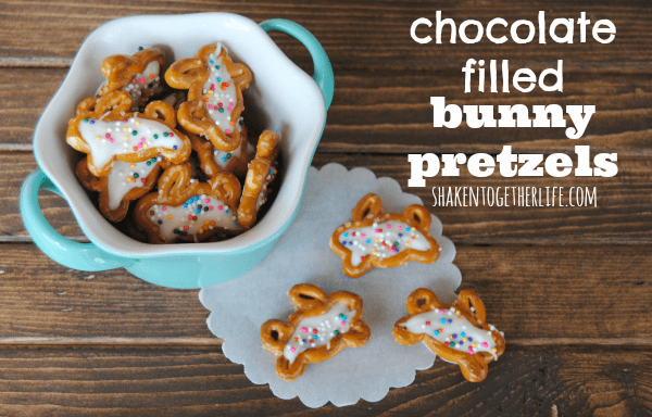 Chocolate-filled-bunny-pretzels