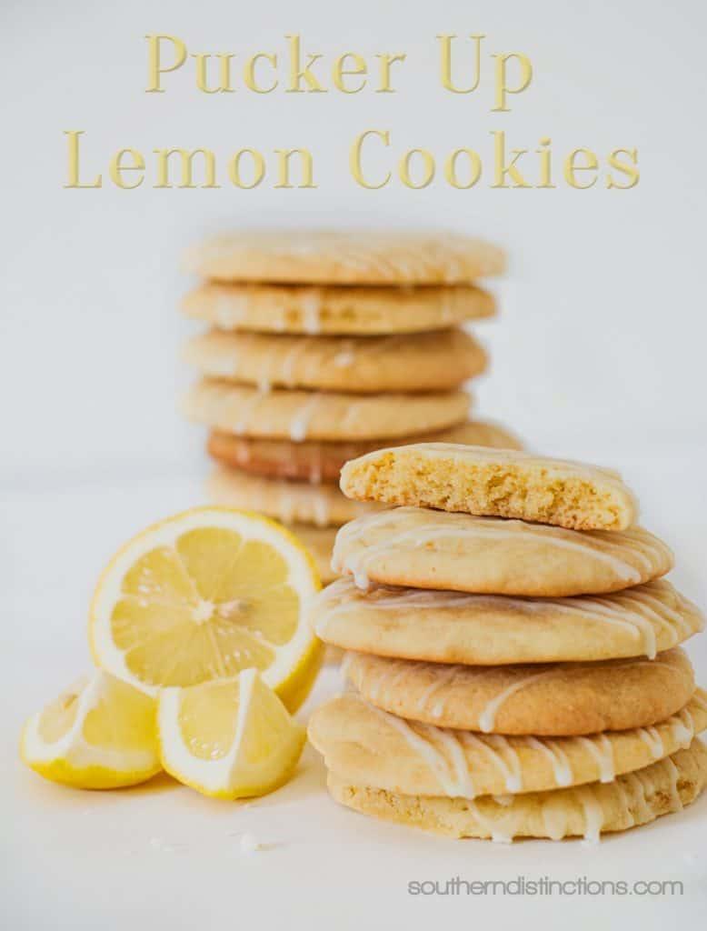 Lemon Cookies-Southern Distinctions 1