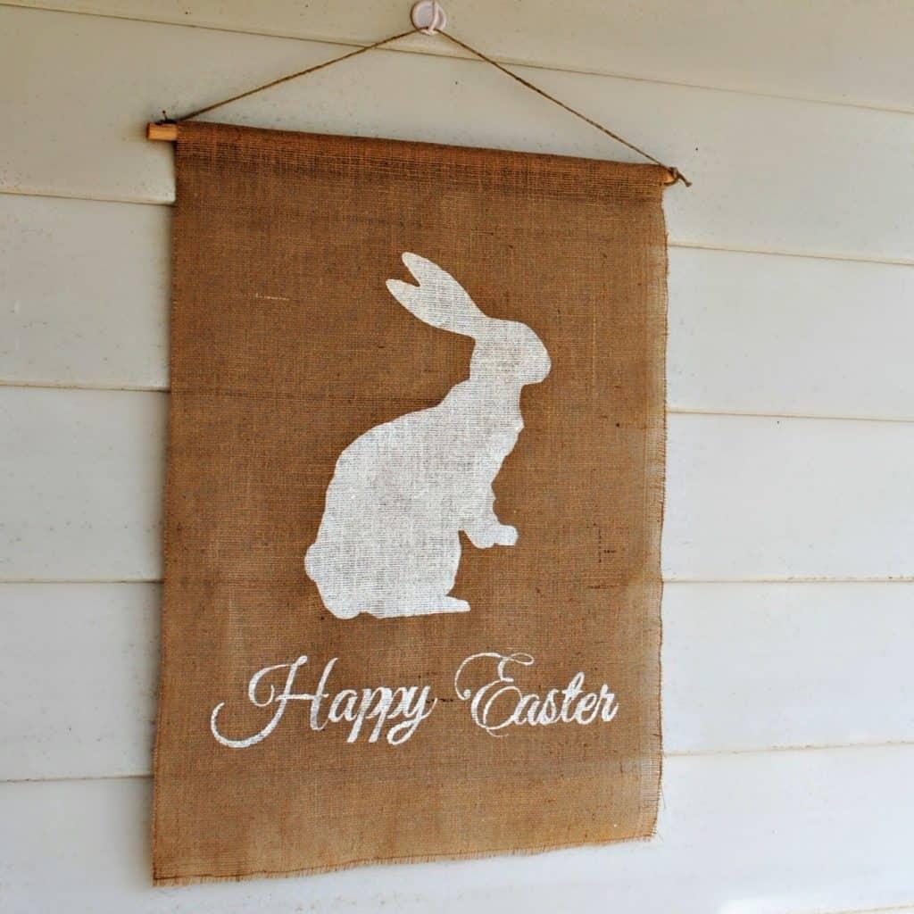 bunny flag