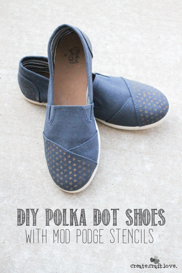 POLKA DOTS SHOES slip-on mod