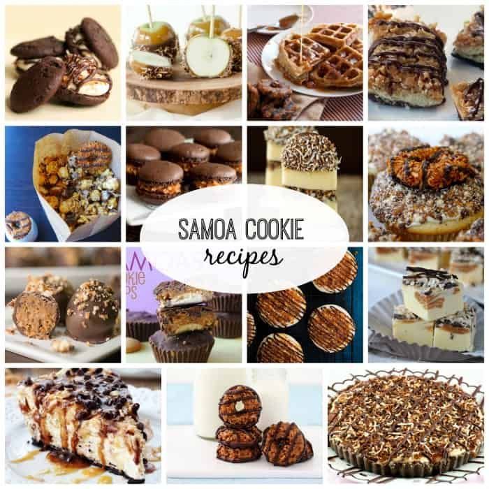 Homemade White Chocolate Samoa Girl Scout Cookies Recipes — Dishmaps