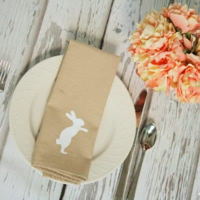 Simple Easter Napkins