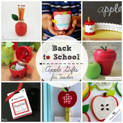 Back to School Apple Gifts