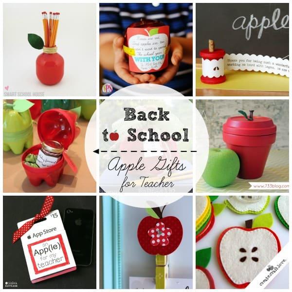 Back to School Apple Gifts for Teacher via createcraftlove.com