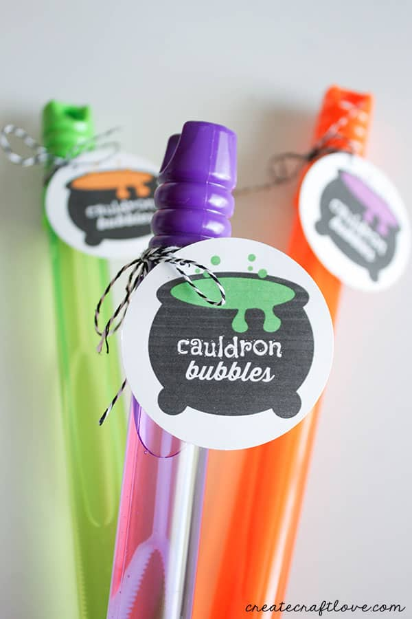 cauldron bubbles printable - guide to halloween printables