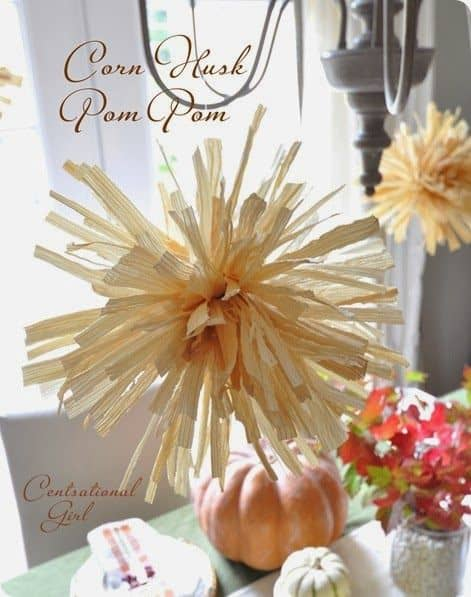 Decorating With Corn Husks