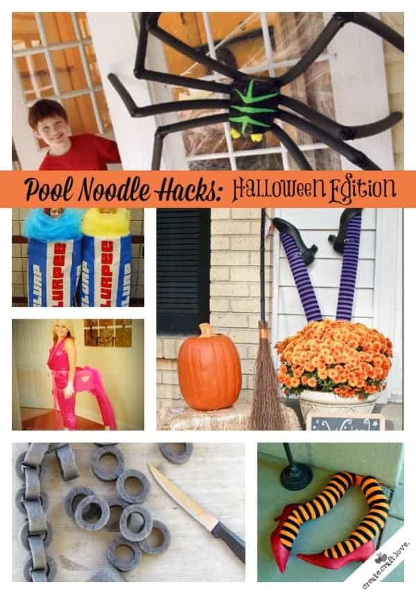 Pool Noodle Hacks for Halloween