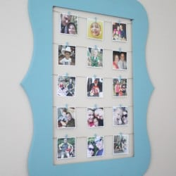 Display your phone photos with this interchangeable Instagram Wall Art via createcraftlove.com