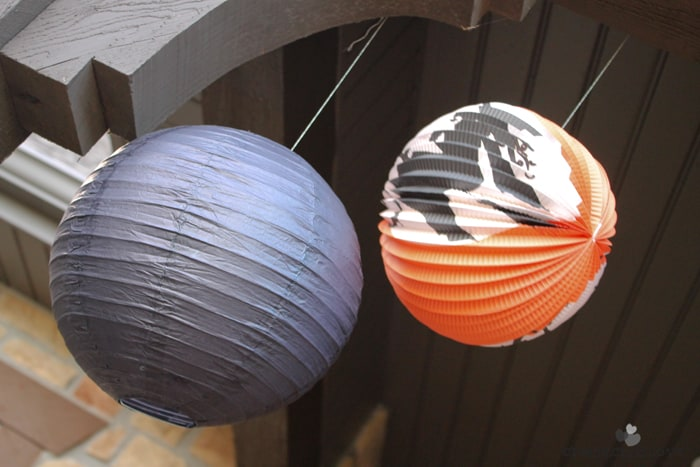 halloween porch lanterns