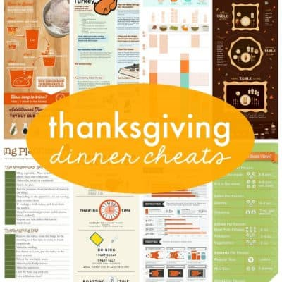 Thanksgiving Dinner Cheats