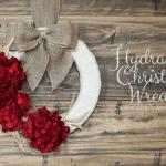 Hydrangea-Christmas-Wreath-with-Burlap