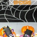 Toilet Paper roll spiders candy
