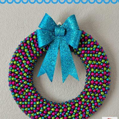 Glitter Ball Wreath