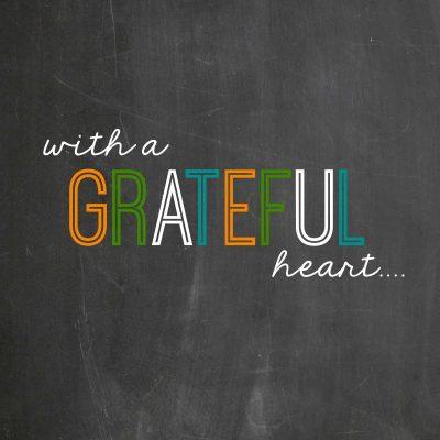 Grateful Heart Thanksgiving Printable