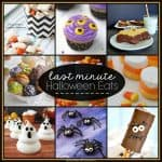 Eek! These Last Minute Halloween Eats are perfect if you are scrambling! via createcraftlove.com