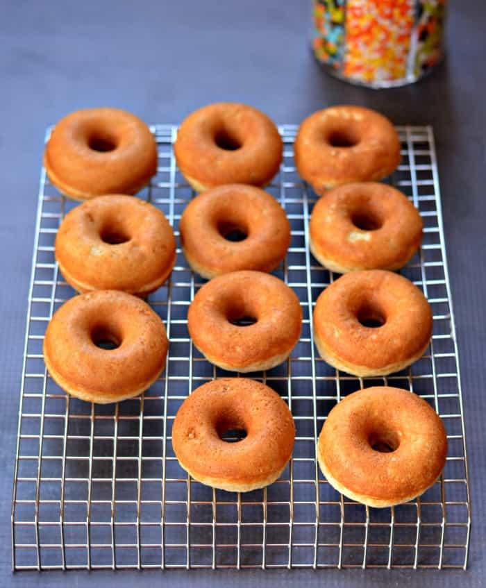 min donuts baked