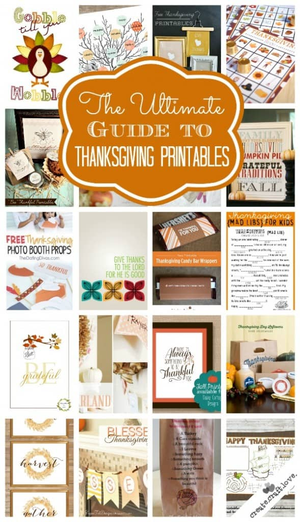 thanksgiving printables vertical