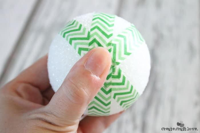 washi tape ornament 3