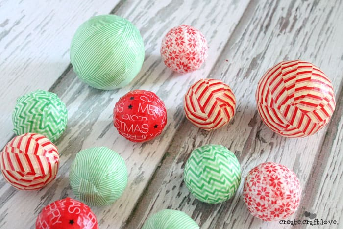 What To Do With Washi Tape washi tape ornaments