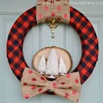 Red-Plaid-Rustic-Holiday-Wreath-from-The-Cards-We-Drew