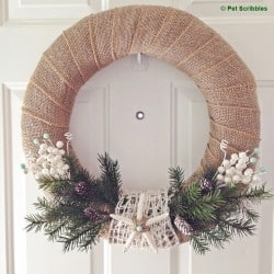 Starfish Holiday Wreath