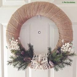 Starfish Holiday Wreath