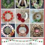 Winter Wreath Workshop Round Up at createcraftlove.com