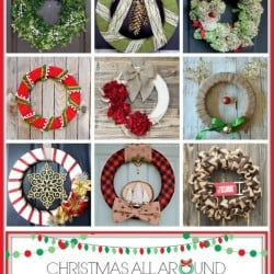 Winter Wreath Workshop Round Up at createcraftlove.com