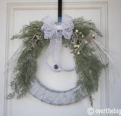 Easy Winter Wreath
