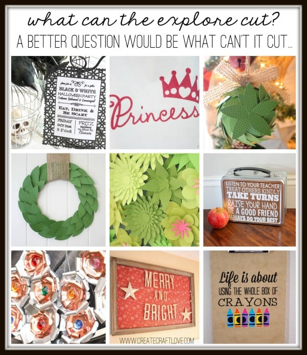 Top Ten Reasons Why I Love My Explore via createcraftlove.com