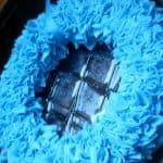 fleece winter wreath 6