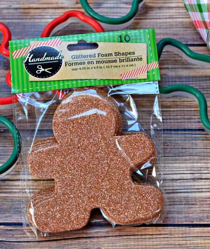 glitter gingerbread men