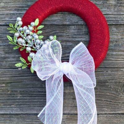 Sparkle Christmas Wreath