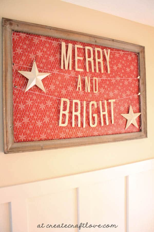 Create your own DIY Wooden Banner using the Cricut Explore! Find out how at createcraftlove.com!