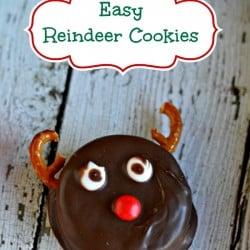Easy Reindeer Cookies 2