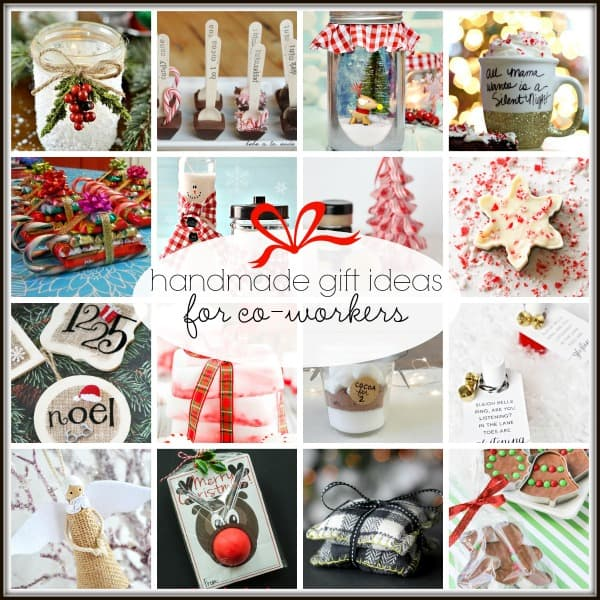 20+ Handmade Gift Ideas for Co-Workers via createcraftlove.com