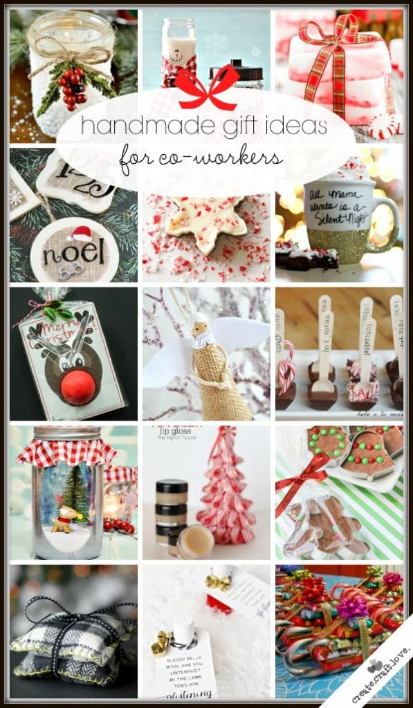 Christmas Gift Ideas For Coworkers.20 Handmade Gift Ideas For Co Workers