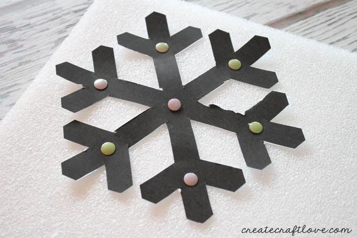 snowflake door hanging 1