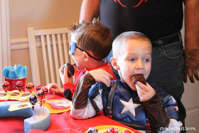 superhero party 12