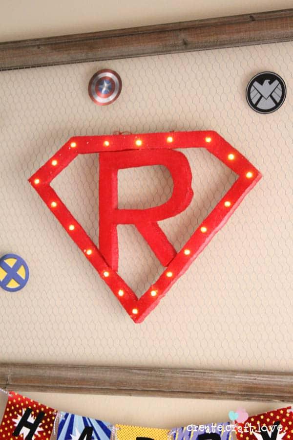 superhero party 6