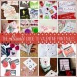 The ULTIMATE Guide to Valentine Printables via createcraftlove.com