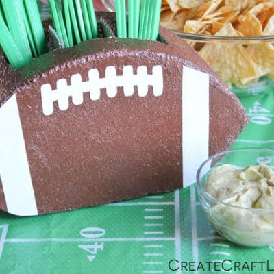 Football Utensil Holder
