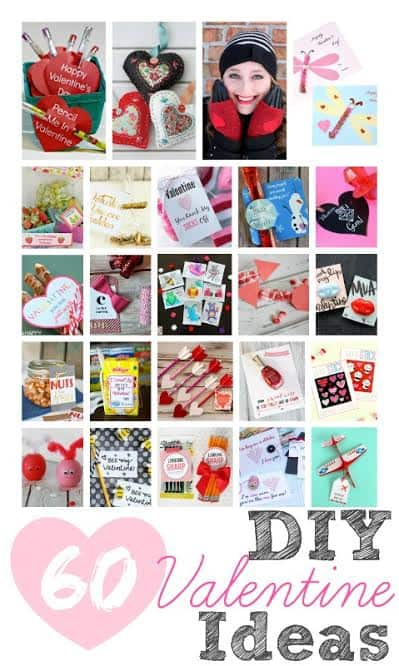 60 DIY Valentine Ideas via createcraftlove.com