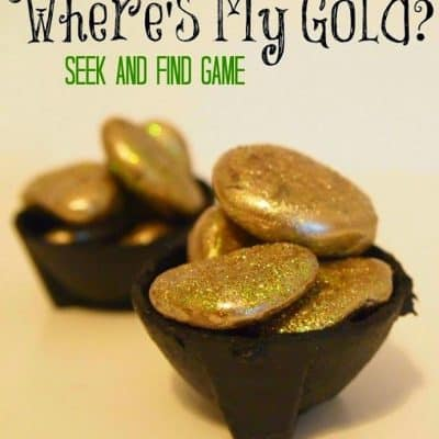 Where's My Gold? Seek and Find Game